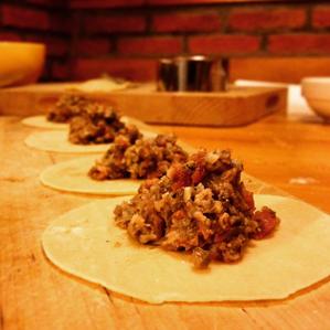 De eerste keer zelfgemaakte ravioli